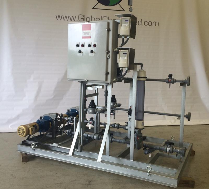 Global Chem-feed Solutions, LLC - Fabricators of Custom Skid