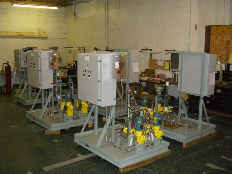 Chemical Feed Systems For Water Treatment Applications